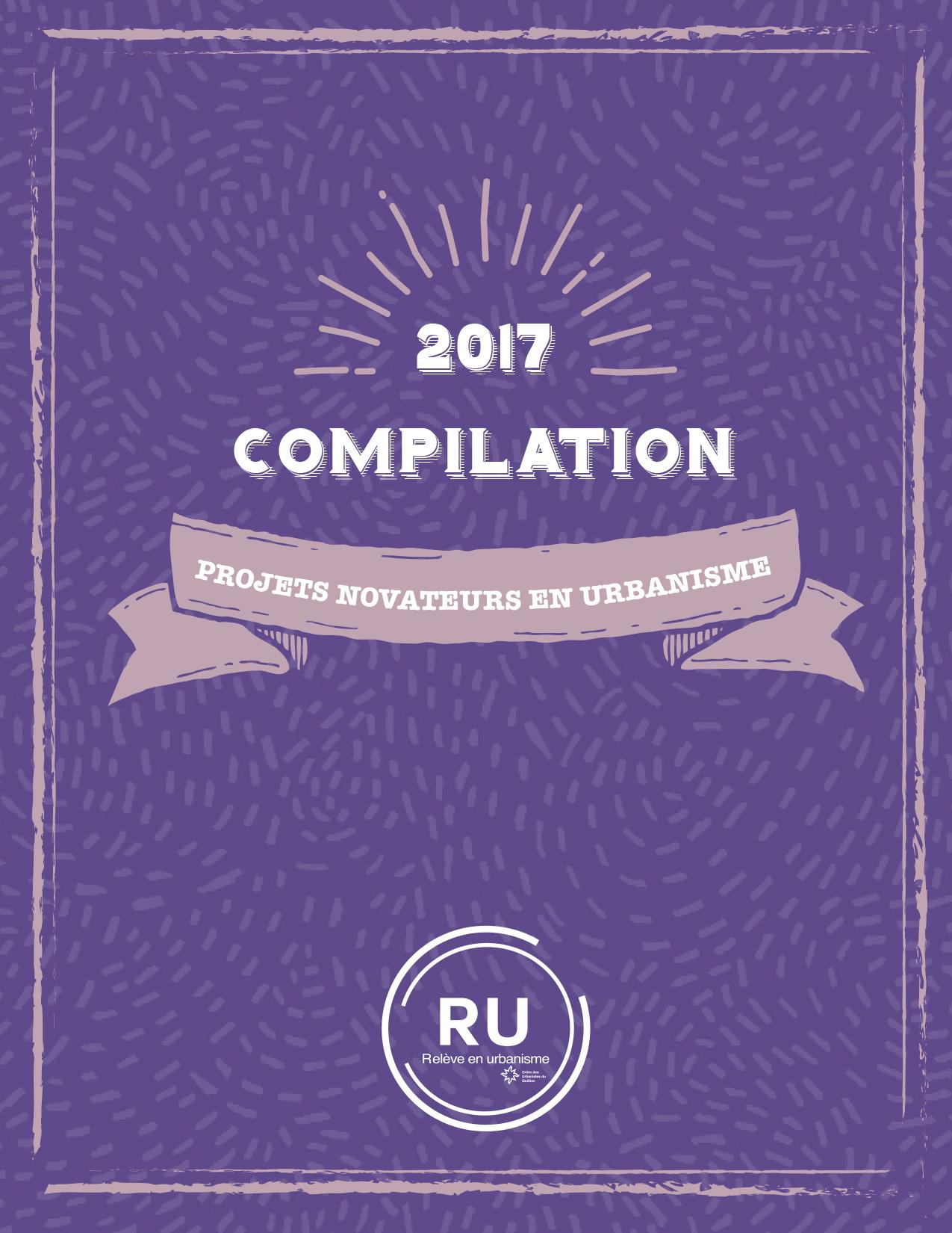 OUQ - La compilation des projets novateurs en urbanisme est maintenant disponible!