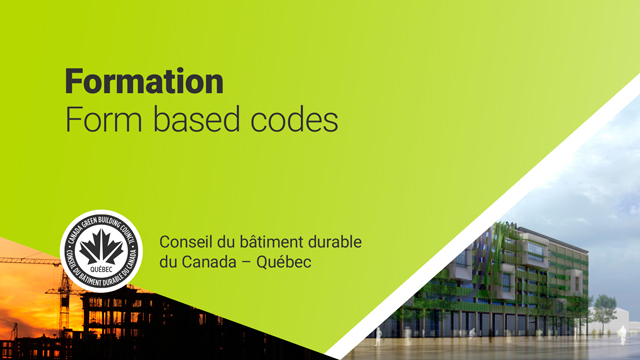 OUQ - Formation Form based codes