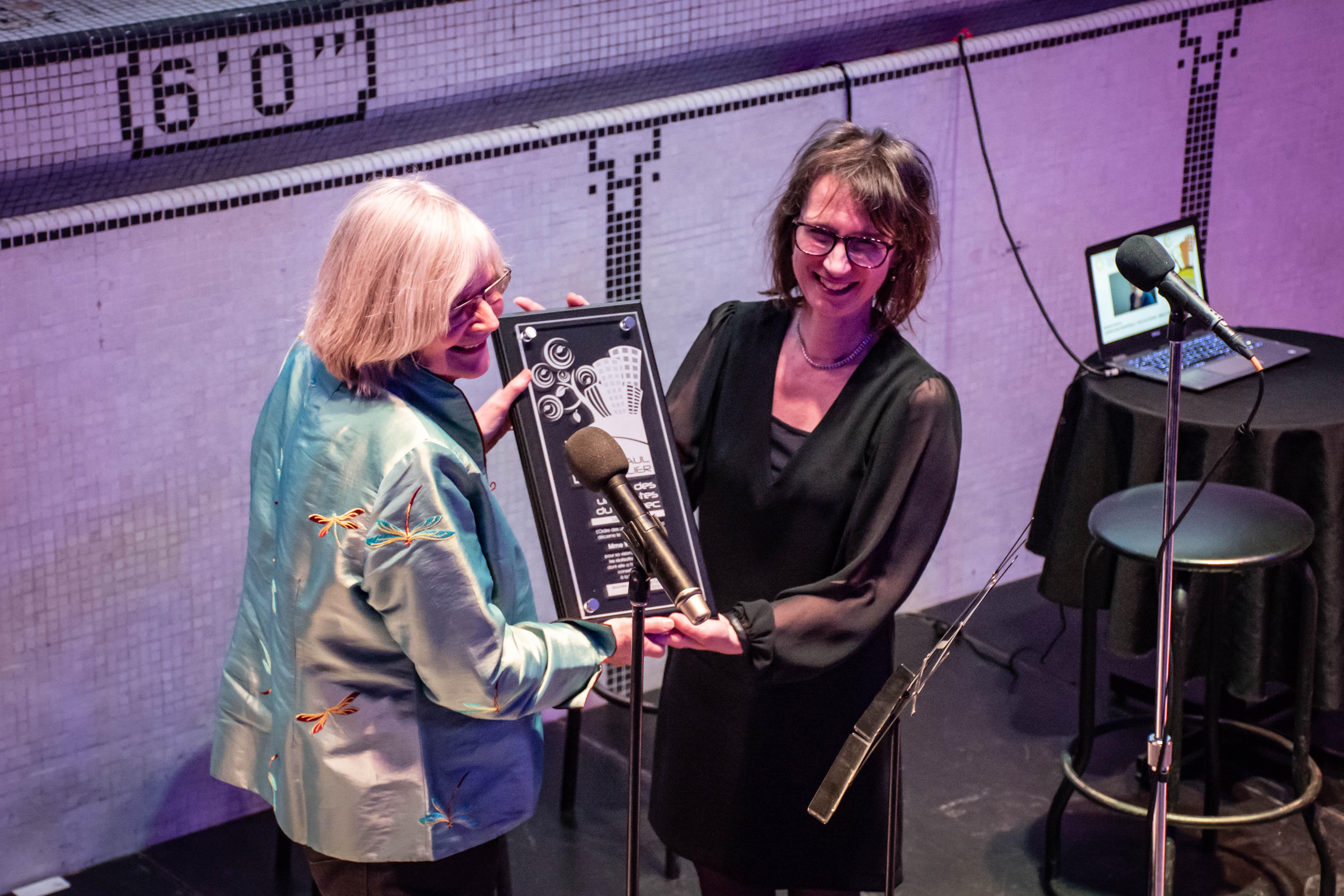 OUQ - L'Ordre des urbanistes du Québec décerne le Prix Jean-Paul-L'Allier 2018 à Madame Winnie Frohn, ancienne conseillère de la Ville de Québec