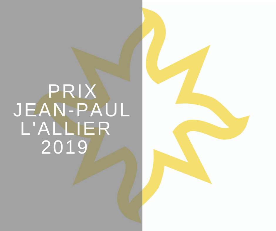 OUQ - Appel à candidatures – Prix Jean-Paul L'Allier 2019